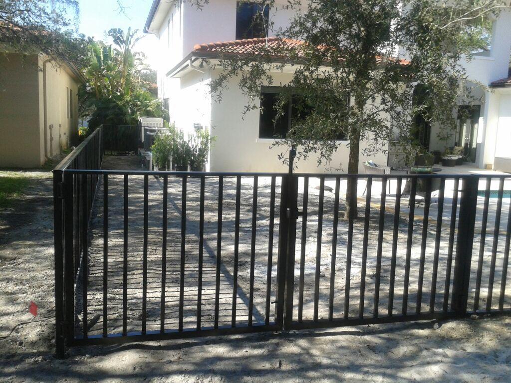 Vinyl,Ornamental, Aluminum Fence installation, Wood fencing